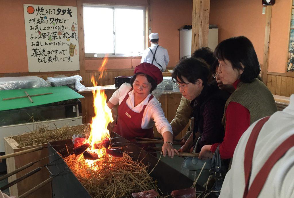 カツオ藁焼き体験!高知ツアー催行!