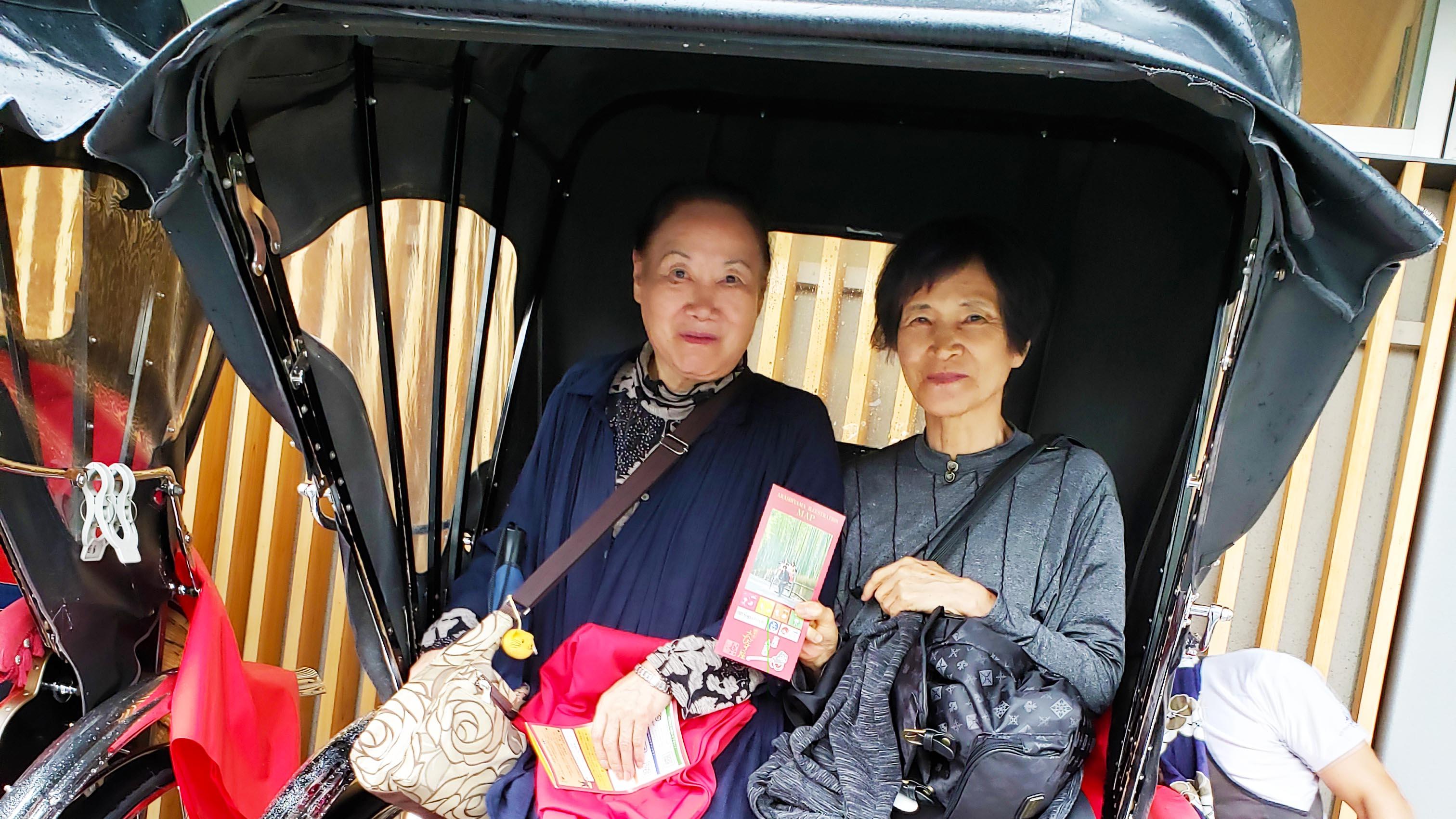 京都 人力車でめぐる嵐山ツアー催行!